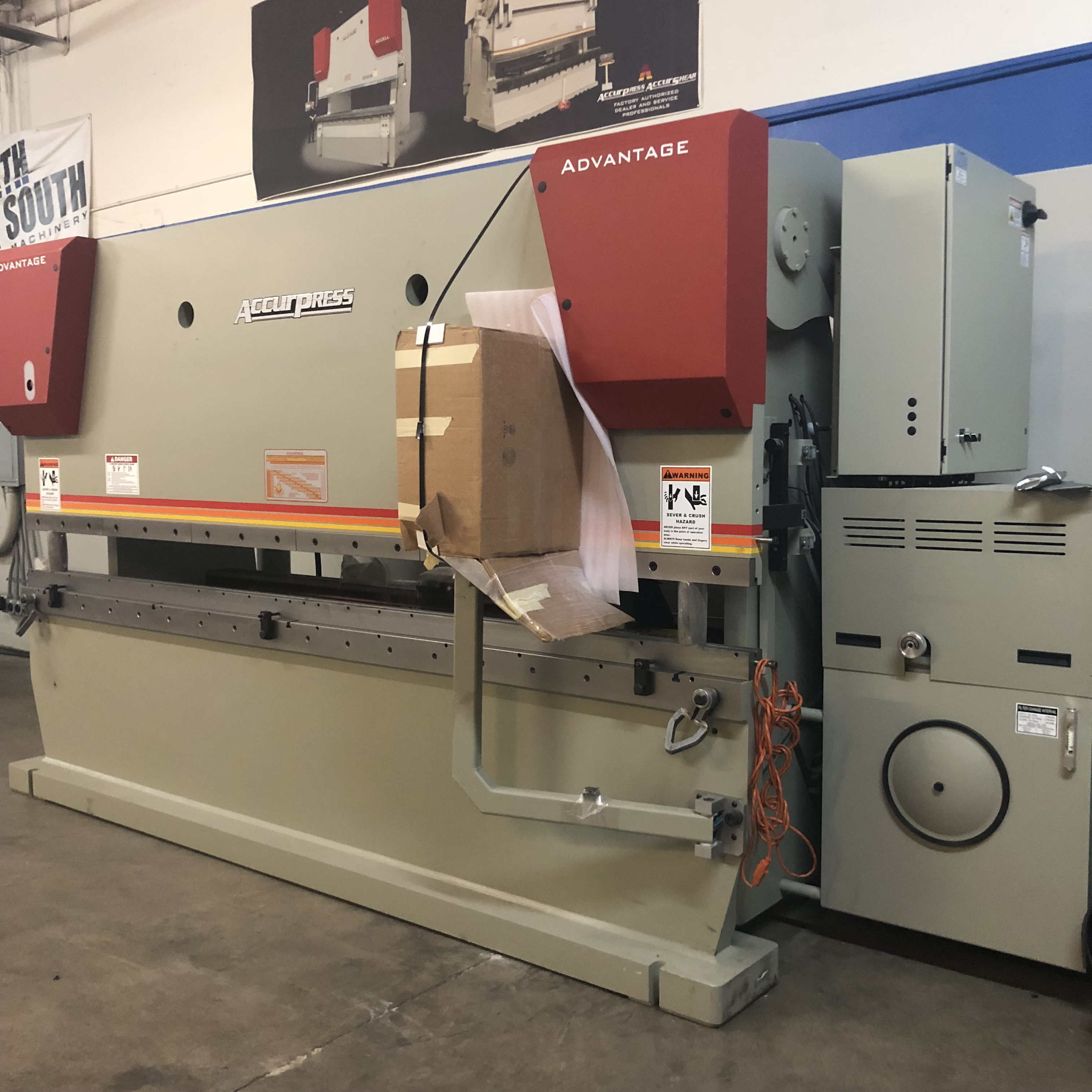 ACCURPRESS 725012 PRESS BRAKE (2) - NEW - North South Machinery