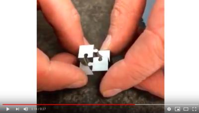 Mits Wire EDM Puzzle Pieces