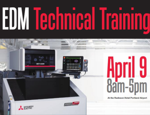 NSM & Mitsubishi to Host EDM Training Seminar In Portland, OR April 9th!