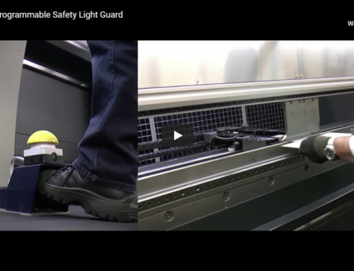 Safan Press Brake – Safe Pedal-free Operation!