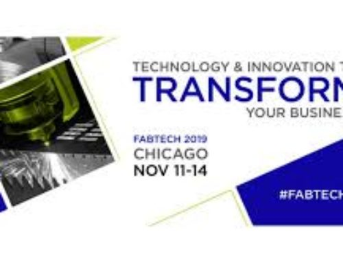 FABTECH 2019 – VISIT OUR PARTNERS IN CHICAGO, IL NOV 11-14TH